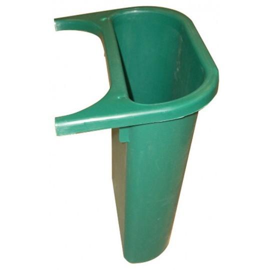 Zijbak groen