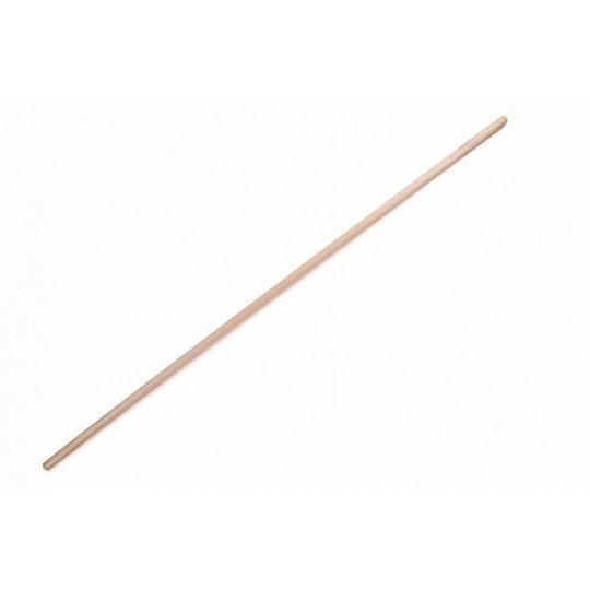 Bezemsteel hout - 170x2,8cm
