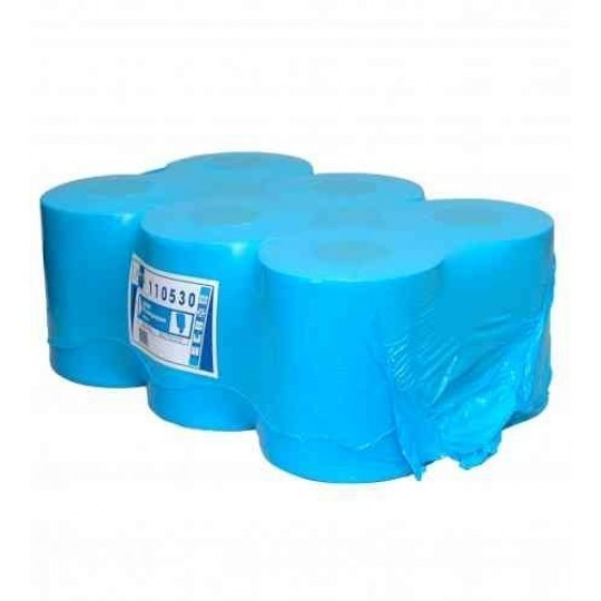 Euro Papier Blauw Zwaar 1 lgs (doos à 6 rol)