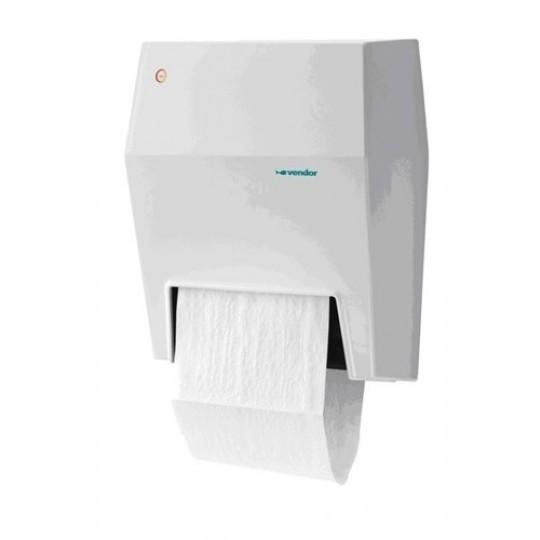 Tradition handdoekautomaat II wit kunststof  (op=op)