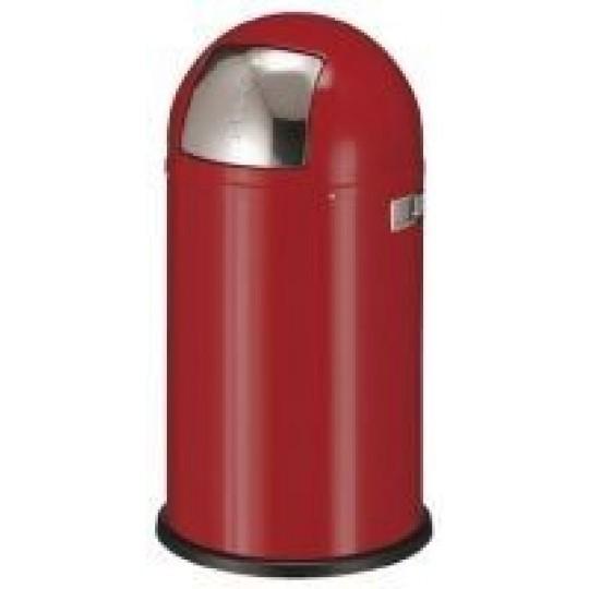 PUSHBOY Afvalbak 50ltr rood