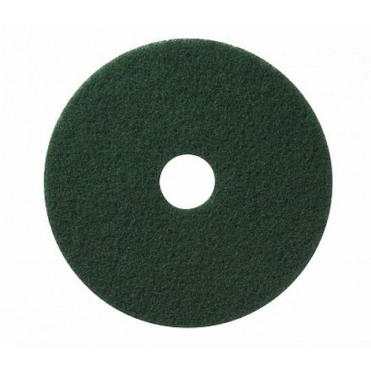 "Scrub pad green 17"""