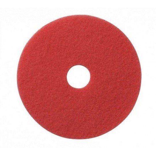 Spray pad Buff rood 17""