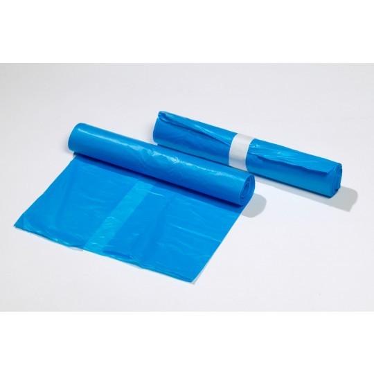 HDPE Afvalzakken 70x110 T25 blauw (500 stuks)
