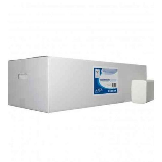 Euro ECO handdoekpapier multifold ZZ-vouw (25x 120stuks)