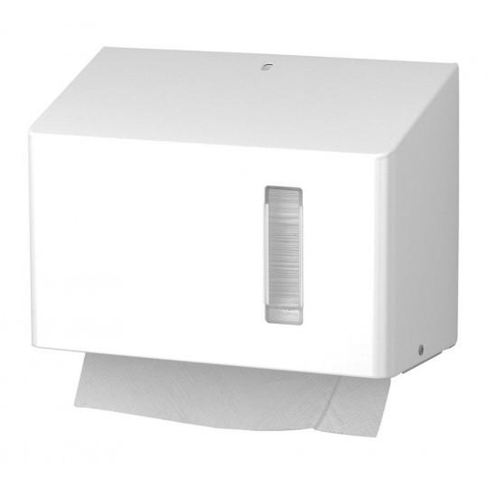Santral handdoekdispenser klein model RVS mat