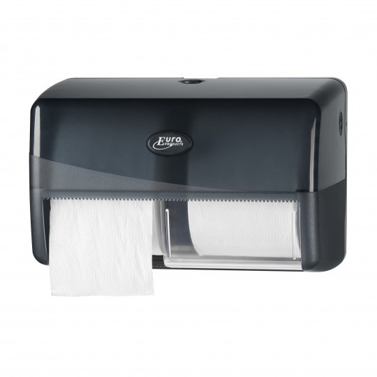 Pearl Black Toilethouder Compact Traditioneel