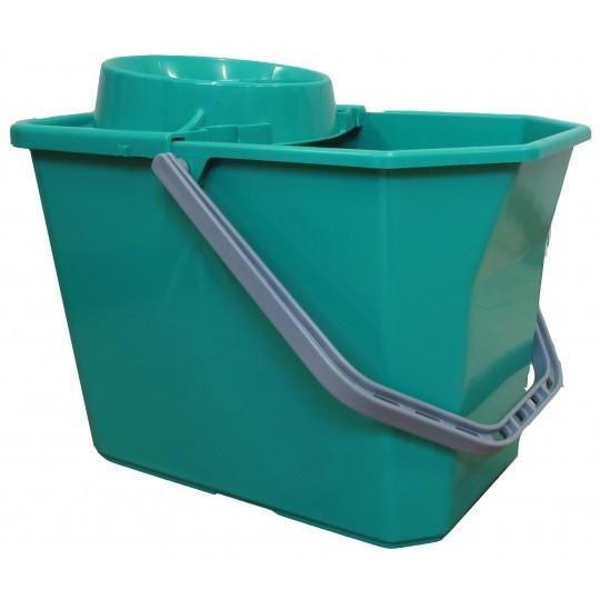 Comfort dweilemmer met pers 15ltr groen