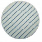 Microvezelpad blauwe streep 17''