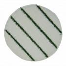 """Bonnetpad 17"""" met groene streep"""