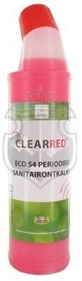 ClearRed ECO S4 Periodieke Sanitairontkalker750ml